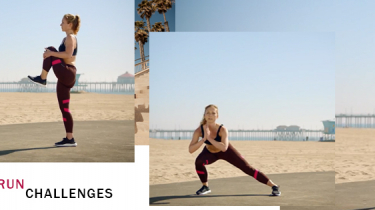 [adidas Women Workout #3] Pre-run Challenge