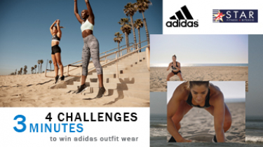 [Mini contest] ADIDAS WOMEN WORKOUT CHALLENGE